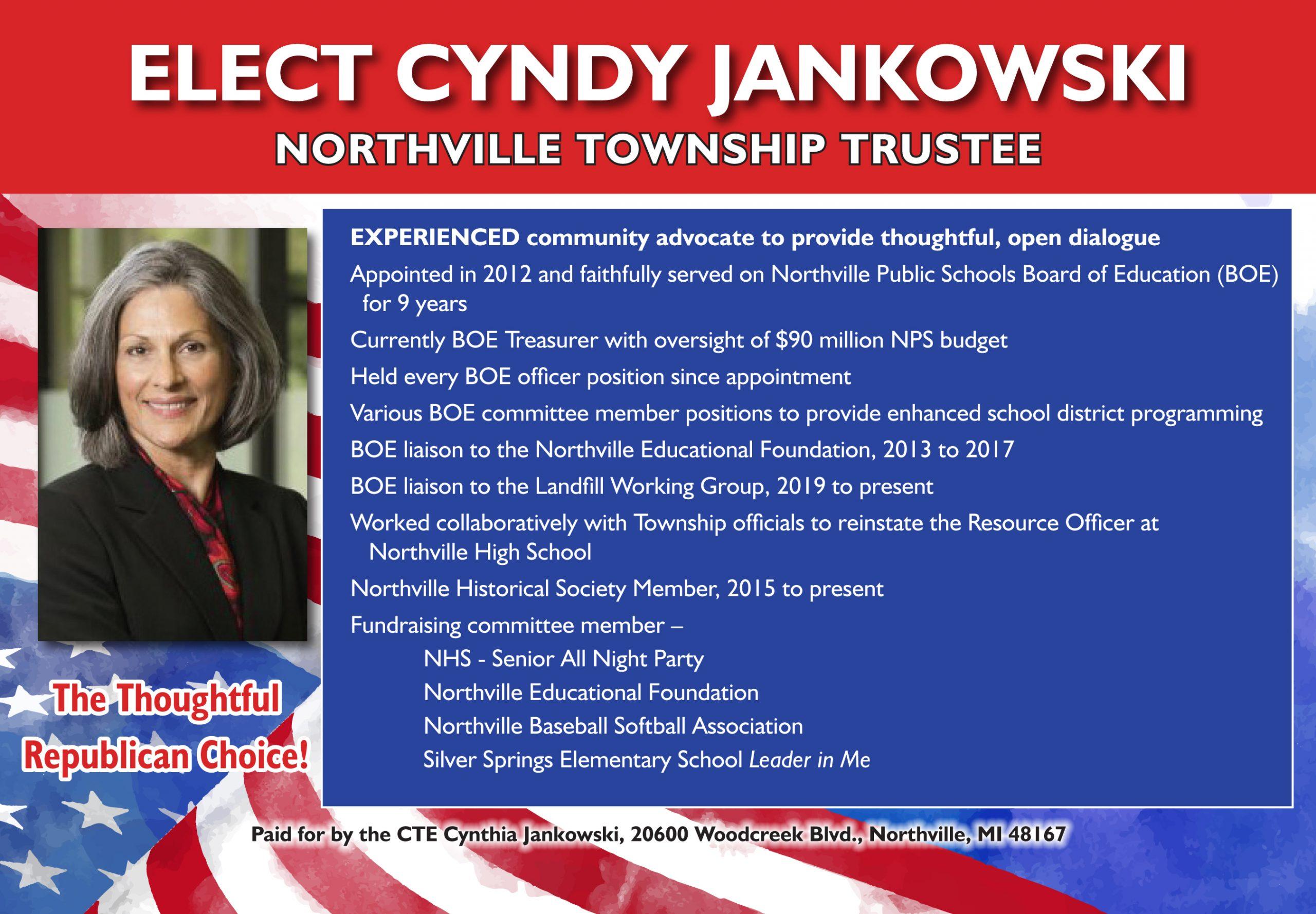 Cyndy Jankowski Elect PC 6-20-1